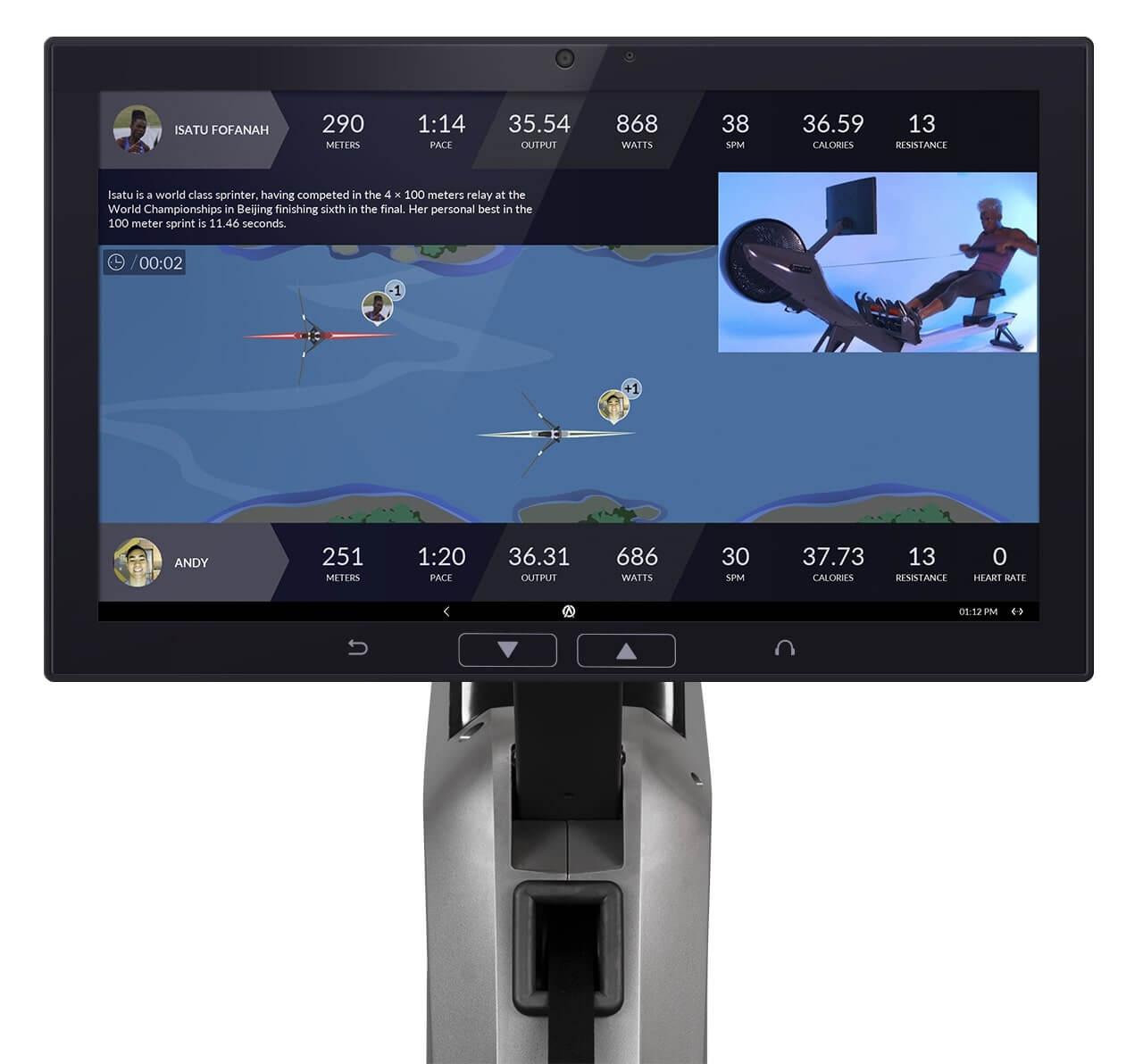 Aviron   Top Interactive Rowing Machines